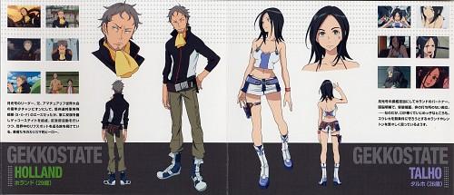 Kazuma Kondou, BONES, Eureka 7, Talho Yuuki, Holland Novak