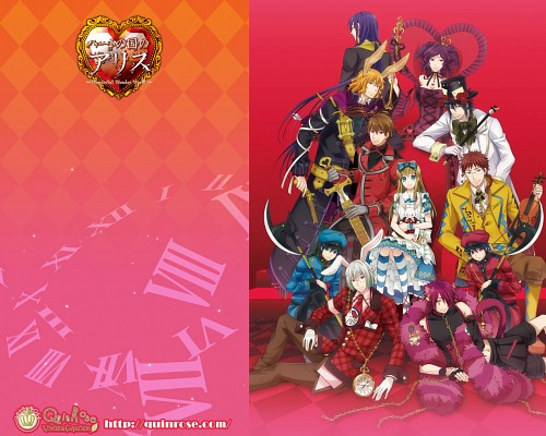 Soumei Hoshino, QuinRose, Asahi Production, Heart no Kuni no Alice, Elliot March