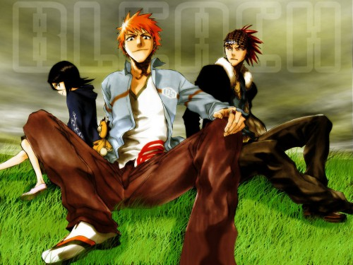 Kubo Tite, Studio Pierrot, Bleach, Kon, Renji Abarai Wallpaper