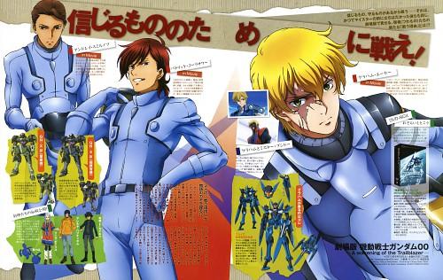 Tetsuya Matsukawa, Sunrise (Studio), Mobile Suit Gundam 00, Allelujah Haptism, Setsuna F. Seiei