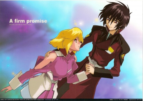Sunrise (Studio), Mobile Suit Gundam SEED Destiny, Shinn Asuka, Stellar Loussier