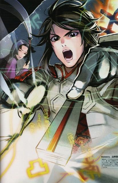 Kana Yamamoto, Capcom, Production I.G, Sengoku Basara 2 Visual & Sound Book Vol. 2, Sengoku Basara