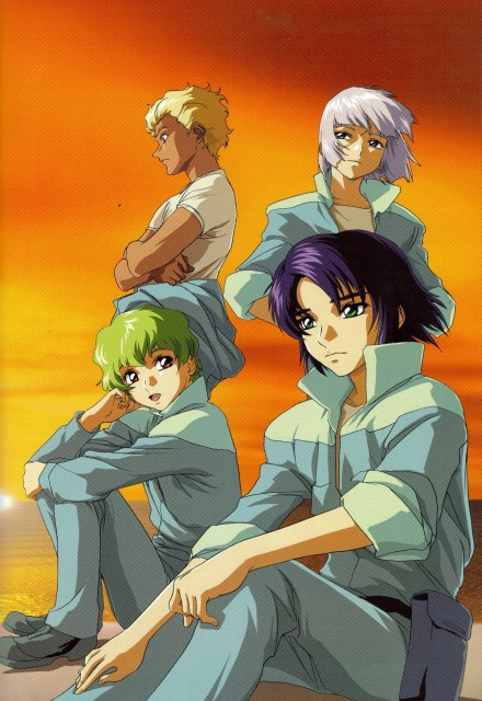 Sunrise (Studio), Mobile Suit Gundam SEED, Hisashi Hirai Illustration Works, Athrun Zala, Nicol Amalfi