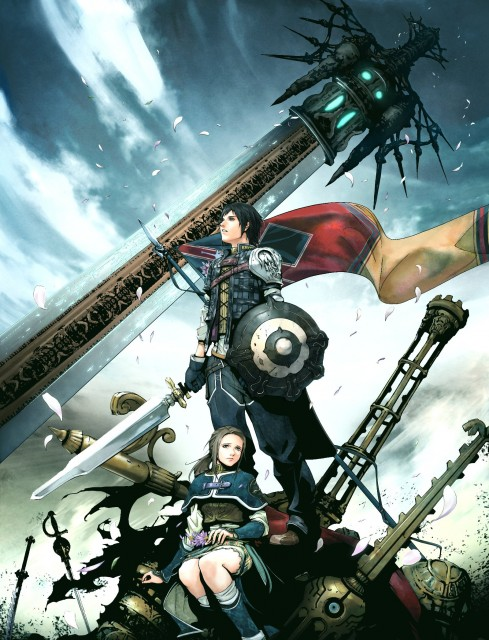 Square Enix, The Last Remnant, Rush Sykes, Irina Sykes