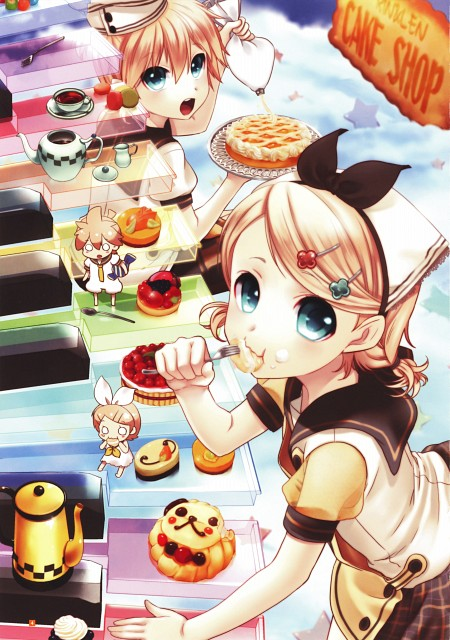 Tamara, CV02 Kagamine Rin/Len, Vocaloid, Rin Kagamine, Len Kagamine