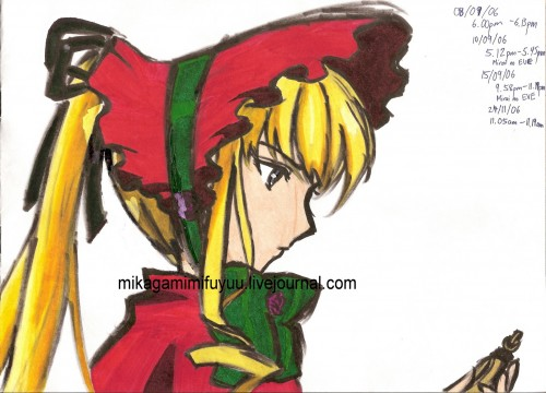 Peach-Pit, Rozen Maiden, Shinku, Member Art