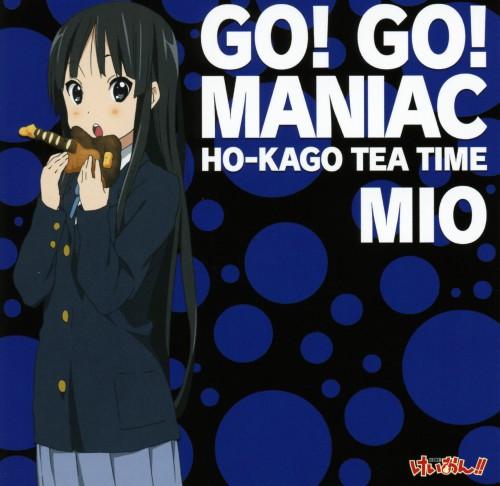 Kakifly, Kyoto Animation, K-On!, Mio Akiyama, Album Cover