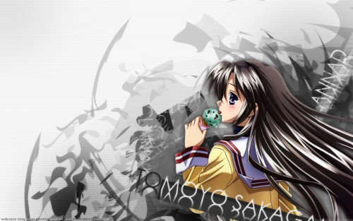 Key (Studio), Clannad, Tomoyo Sakagami, Tomoyo Daidouji Wallpaper