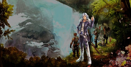 Monolith Soft, Nintendo, Xenoblade Chronicles, Alvis, Official Wallpaper