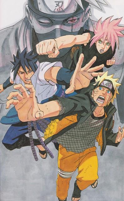 Masashi Kishimoto, Naruto, Sasuke Uchiha, Kakashi Hatake, Sakura Haruno