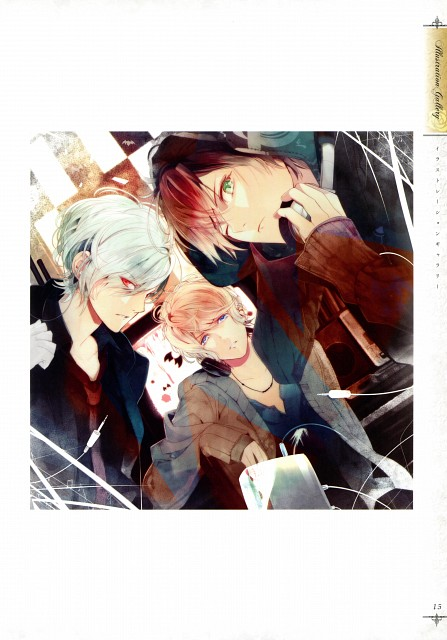 Satoi, Rejet, Zexcs, Idea Factory, Diabolik Lovers Official Visual Fan Book