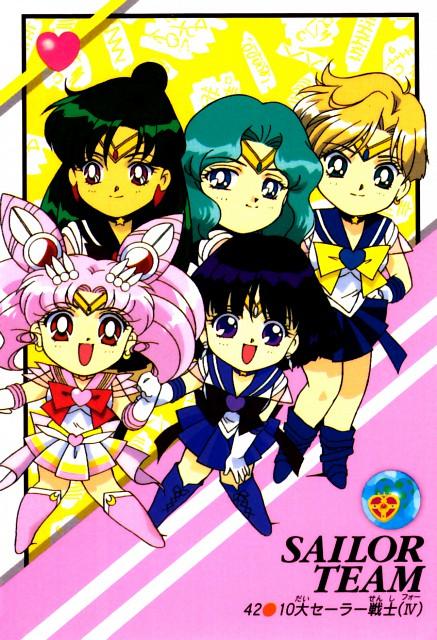 Toei Animation, Bishoujo Senshi Sailor Moon, Sailor Saturn, Sailor Pluto, Super Sailor Chibi Moon