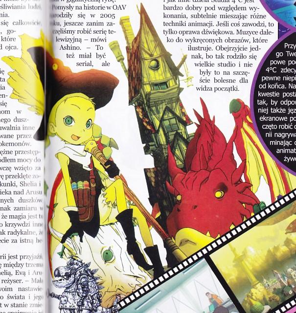 Keita Amemiya, Studio 4°C, Mahou Shoujo Tai Alice, Eva (Mahou Shoujo Tai Alice), Magazine Page