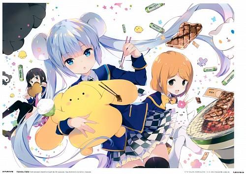 Koharu Sakura, SANZIGEN, QP:flapper, Wooser no Sono Higurashi, Len (Wooser no Sono Higurashi)