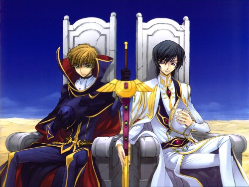 Takahiro Kimura, Sunrise (Studio), Code Geass: Lelouch of the Rebellion, Code Geass Illustrations Relation, Lelouch Lamperouge