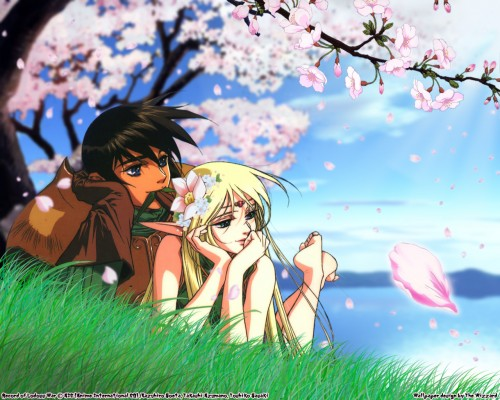 Ryo Mizuno, Madhouse, Record of Lodoss War, Deedlit, Parn Wallpaper