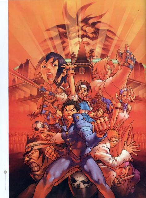 Capcom, Rival Schools, Street Fighter, Shoma Sawamura, Raizo Imawano