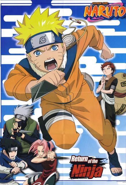 Studio Pierrot, Naruto, Naruto Uzumaki, Gaara, Sakura Haruno