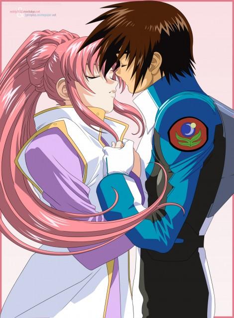 Sunrise (Studio), Mobile Suit Gundam SEED, Kira Yamato, Lacus Clyne, Vector Art