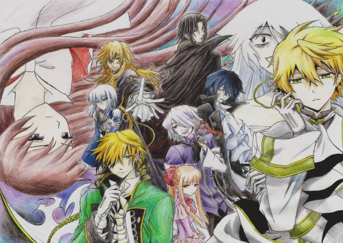 Jun Mochizuki, Xebec, Pandora Hearts, Oswald Baskerville, Xerxes Break
