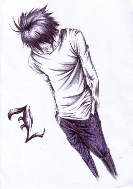 Death Note, L, Member Art