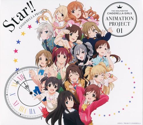 A-1 Pictures, Aniplex, Idol Master: Cinderella Girls, Ranko Kanzaki, Uzuki Shimamura