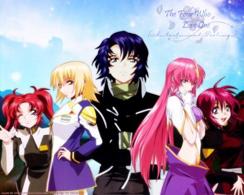 Mobile Suit Gundam SEED Destiny, Lunamaria Hawke, Meyrin Hawke, Meer Campbell, Cagalli Yula Athha Wallpaper