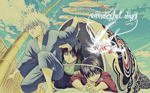 Hideaki Sorachi, Sunrise (Studio), Gintama, Shinsuke Takasugi, Gintoki Sakata Wallpaper