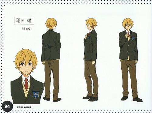 Kyoto Animation, Free!, Free! TV Animation Guide Book, Nagisa Hazuki, Character Sheet