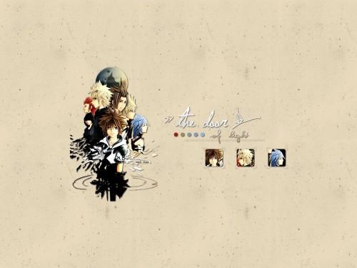Kingdom Hearts, Sora, Ventus, Xion, Aqua (Kingdom Hearts) Wallpaper