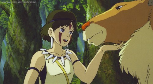 Kazuo Oga, Studio Ghibli, Princess Mononoke, San