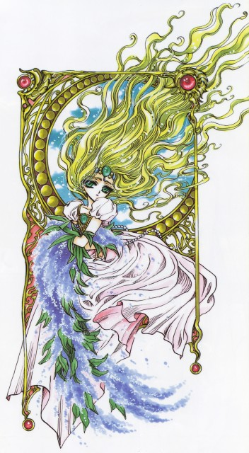 CLAMP, Magic Knight Rayearth, Magic Knight Rayearth 2 Illustrations Collection, Emeraude