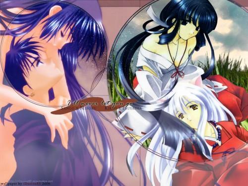 Rumiko Takahashi, Inuyasha, Kikyou, Sango, Inuyasha (Character) Wallpaper