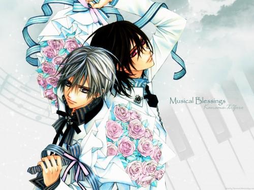 Matsuri Hino, Vampire Knight, Zero Kiryuu, Kaname Kuran Wallpaper