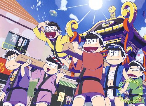 Fujio Akatsuka, Osomatsu-kun, Choromatsu Matsuno, Juushimatsu Matsuno, Osomatsu Matsuno