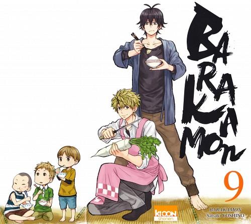 Satsuki Yoshino, Barakamon, Seishu Handa, Hiroshi Kido, Manga Cover