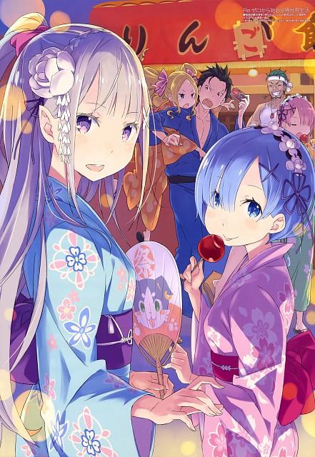 Shinichiro Otsuka, White Fox, Re:Zero, Ram (Re:Zero), Emilia (Re:Zero)