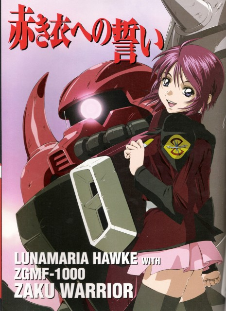 Mobile Suit Gundam SEED Destiny, Lunamaria Hawke