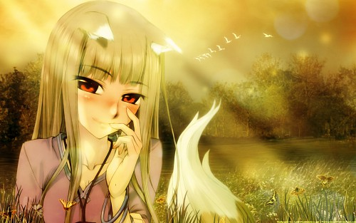 Juu Ayakura, Spice and Wolf, Horo Wallpaper