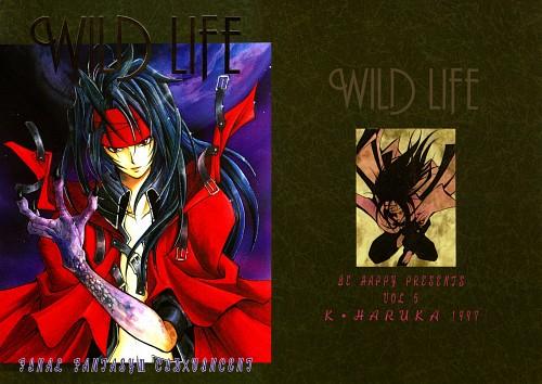 Final Fantasy VII, Vincent Valentine, Doujinshi, Doujinshi Cover