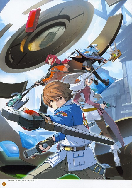 Falcom, The Legend of Heroes Illustration Artbook, The Legend of Heroes: Zero no Kiseki, The Legend of Heroes: Ao no Kiseki, Elie Macdowell