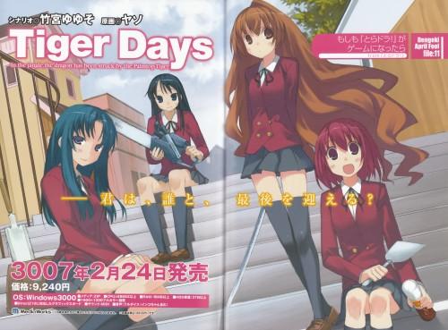 Toradora!, Ami Kawashima, Sumire Kanou, Minori Kushieda, Taiga Aisaka