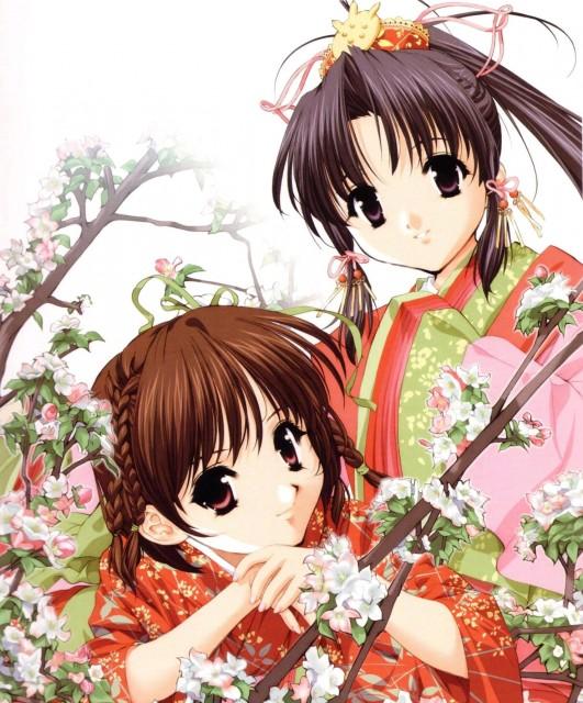Naoto Tenhiro, Sister Princess, The Art of Sister Princess, Haruka (Sister Princess), Rin Rin (Sister Princess)