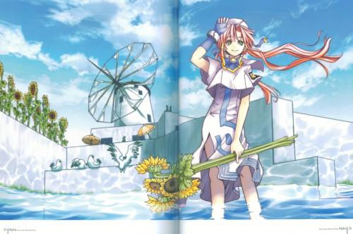 Kozue Amano, Aria, Alpha: Kozue Amano Illustration Works, Akari Mizunashi
