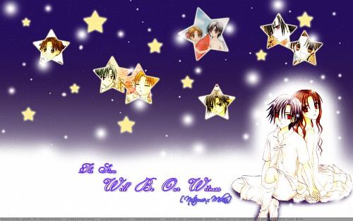 Tachibana Higuchi, Group TAC, Gakuen Alice, Mikan Sakura, Natsume Hyuuga Wallpaper