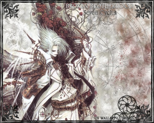 Shibamoto Thores, Gonzo, Trinity Blood, Cain Nightroad Wallpaper