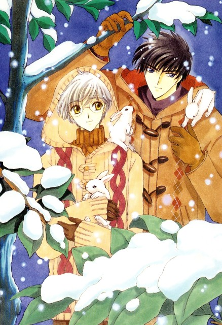 CLAMP, Cardcaptor Sakura, Cardcaptor Sakura Illustrations Collection 2, Yukito Tsukishiro, Touya Kinomoto
