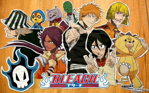 Kubo Tite, Studio Pierrot, Bleach, Yoruichi Shihouin, Nova (Bleach) Wallpaper