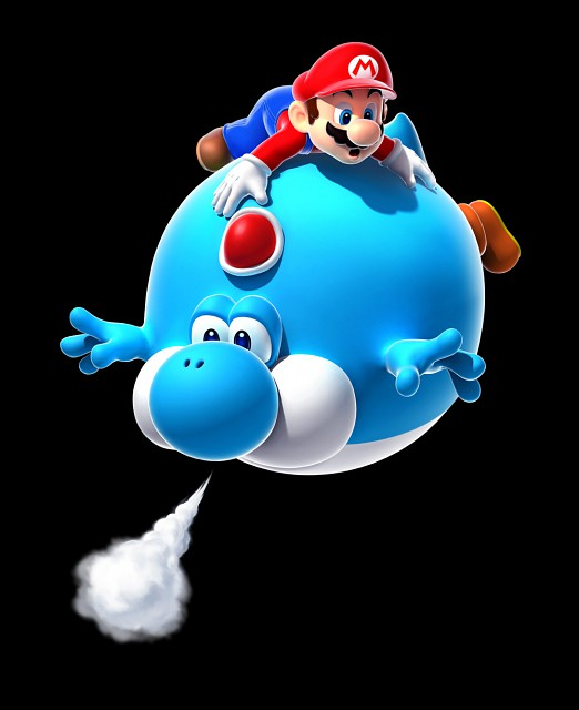 Nintendo, Super Mario, Yoshi, Mario (Character), Official Digital Art
