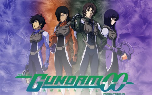 Sunrise (Studio), Mobile Suit Gundam 00, Allelujah Haptism, Tieria Erde, Lockon Stratos Wallpaper